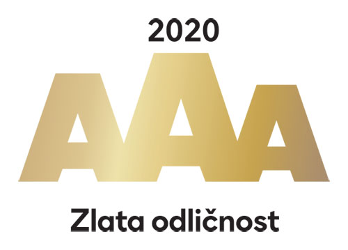 2020 gold AAA certificate